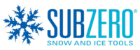 SubZero Snow and Ice Tools Primary Blue Logo